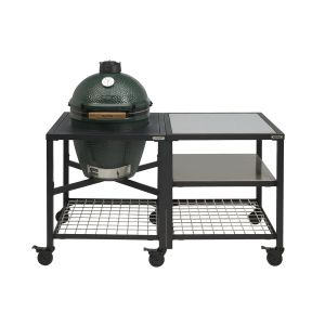 Big Green Egg Medium incl. Egg Frame, Inserts & Caster Kit
