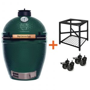 Big Green Egg Large incl. incl. Egg Frame & Caster Kit