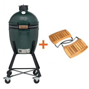 Big Green Egg Small incl. Nest & Acacia Egg Mates