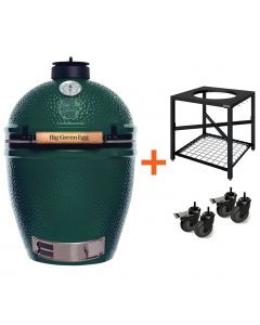 Big Green Egg Large incl. Egg Frame & Caster Kit
