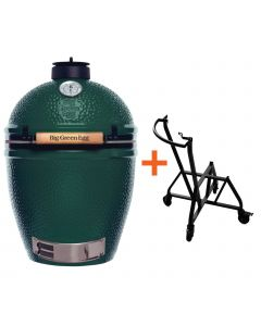 Big Green Egg Large incl. IntEGGrated Nest+ Handler
