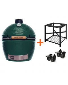 Big Green Egg XLarge incl. Egg Frame & Caster Kit